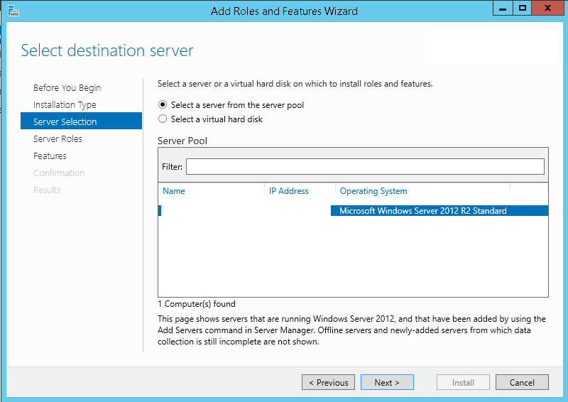 Installing manually WDS on SCCM Distribution Point without